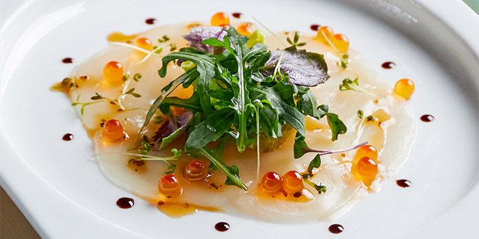 Carpaccio of Hokkaido Scallops  from Table At 7 at SIM Management House in Bukit Timah, Singapore