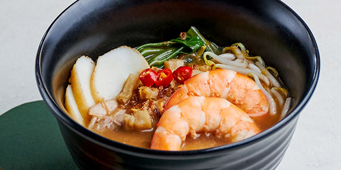 Special Prawn Noodle Soup from Table At 7 at SIM Management House in Bukit Timah, Singapore