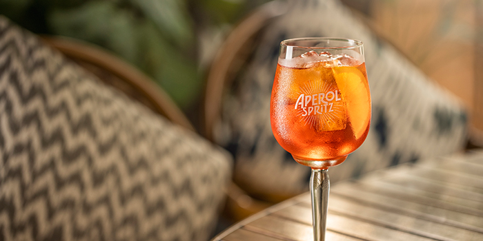 Aperol Spritz from Summerlong at The Quayside in Robertson Quay, Singapore