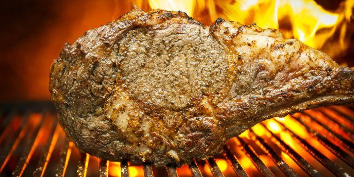 Steak from Zafferano Italian Restaurant & Lounge in Collyer Quay, Singapore