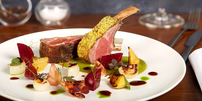 Lamb from Zafferano Italian Restaurant & Lounge in Collyer Quay, Singapore