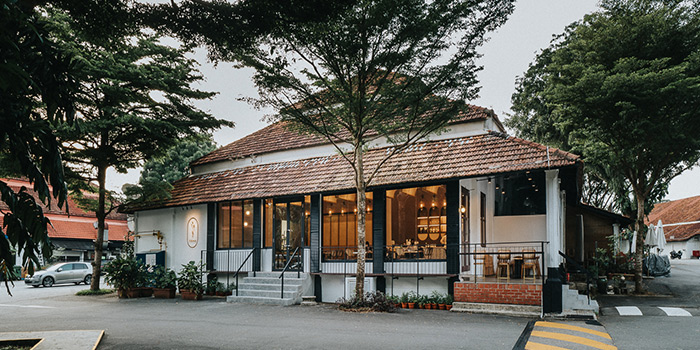Exterior of Hathaway Restaurant in Dempsey, Singapore