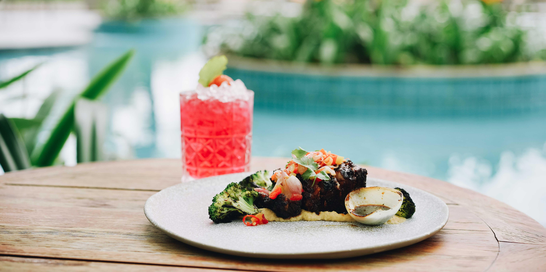 Dish 2 at Summers at the Pool (Swissôtel Jakarta PIK Avenue)