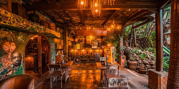 Interior from La Favela, Seminyak, Bali