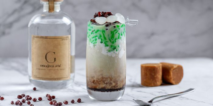 Chendol Cocktail from Timbre X S.E.A in Raffles Place, Singapore