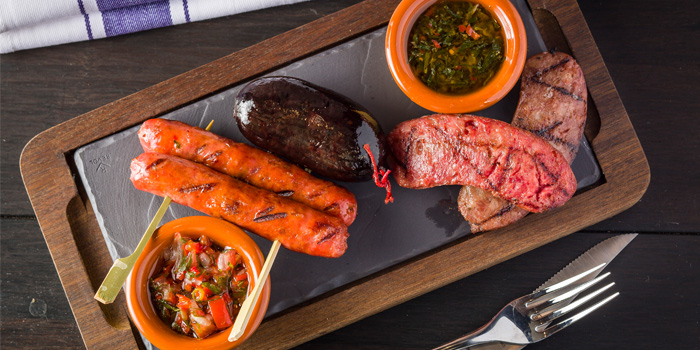 Sausage Platter, Tango Argentinian Steak House, Central, Hong Kong