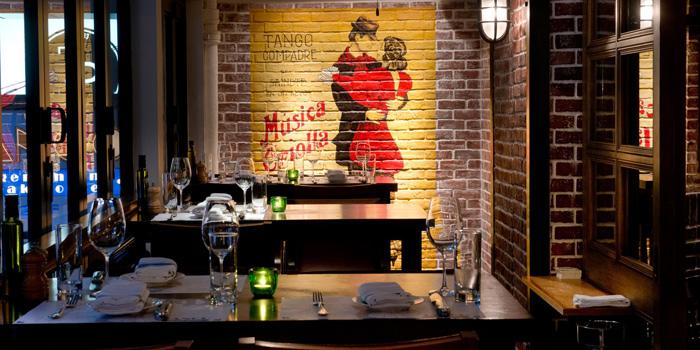 Interior, Tango Argentinian Steak House, Central, Hong Kong