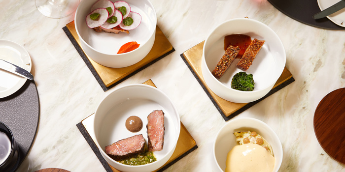 Signature Dishes from IGNIV at St. Regis Hotel, 159 Ratchadamri Rd, Lumphini, Pathum Wan, Bangkok