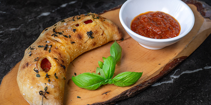 Calzone Classic from Craft Pizza in Boat Quay, Singapore