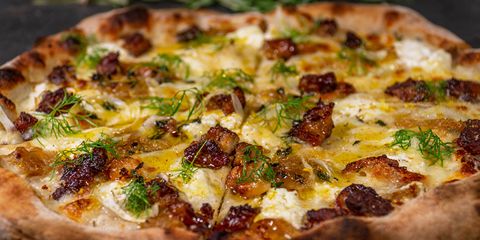 San Salsiccia from Craft Pizza in Boat Quay, Singapore