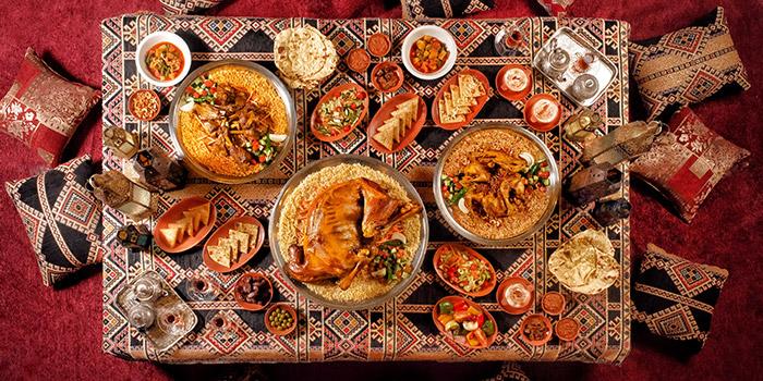 Food from Abunawas Restaurant, Denpasar, Bali
