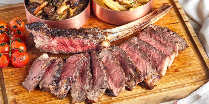 Australian Premium Wagyu Beef Tomahawk, Va Bene Italiano, Kowloon Tong, Hong Kong