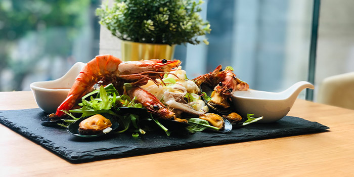 Grilled Seafood Platter from Nalati in Raffles Place, Singapore