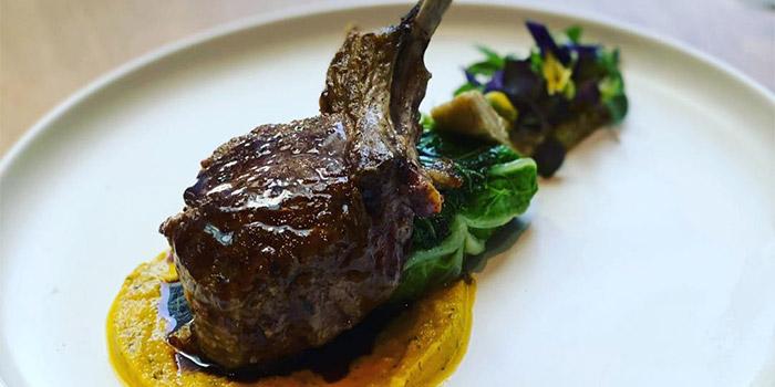 Pan-Seared Lamb Rack from Nalati in Raffles Place, Singapore