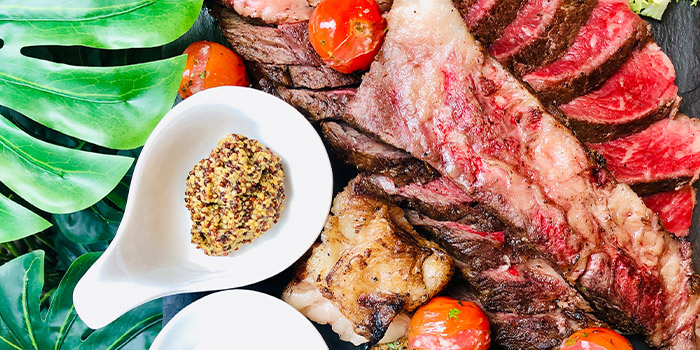 Meat Platter from Nalati in Raffles Place, Singapore