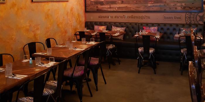 Interior, Baan Thai Restaurant, Western District, Hong Kong