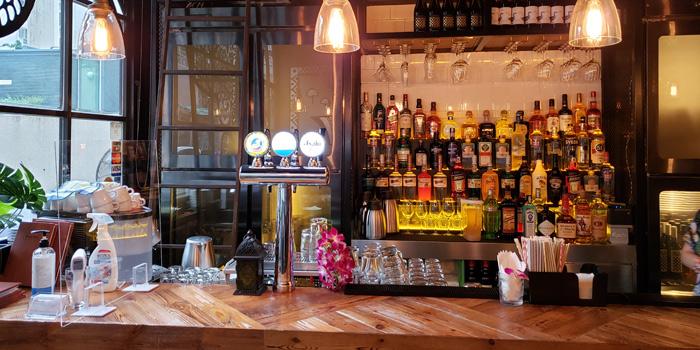Bar Area, Baan Thai Restaurant, Western District, Hong Kong