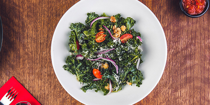 Chopped Kale from Casa Verde at Singapore Botanic Gardens in Tanglin, Singapore