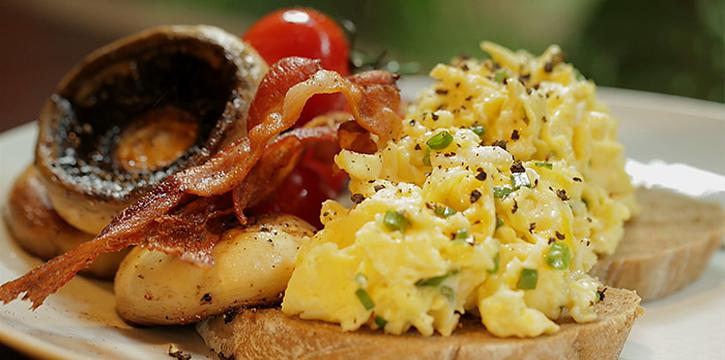 Scrambled Egg Toast from Hilton All-Day Pop-Up Restaurant along Orchard Road, Singapore