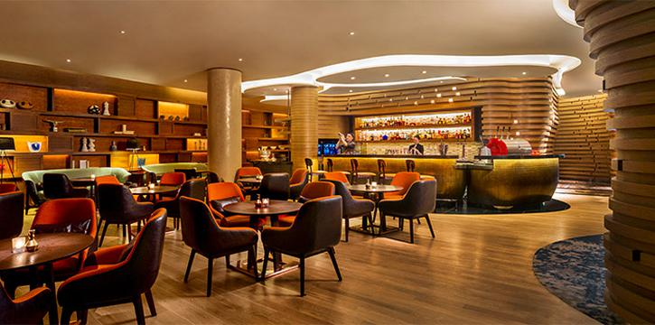 Interior of Hilton All-Day Pop-Up Restaurant along Orchard Road, Singapore
