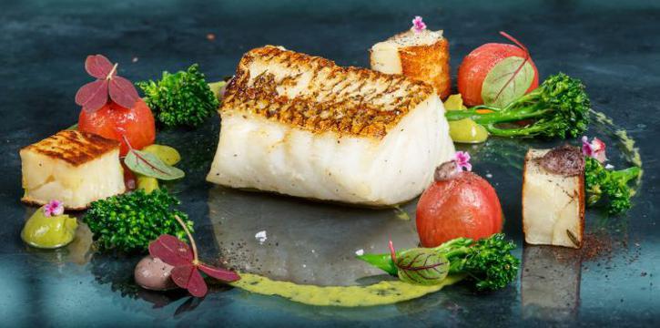 Cod Fish from Zafferano Italian Restaurant & Lounge in Collyer Quay, Singapore
