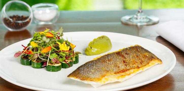 Sea Bass from Zafferano Italian Restaurant & Lounge in Collyer Quay, Singapore