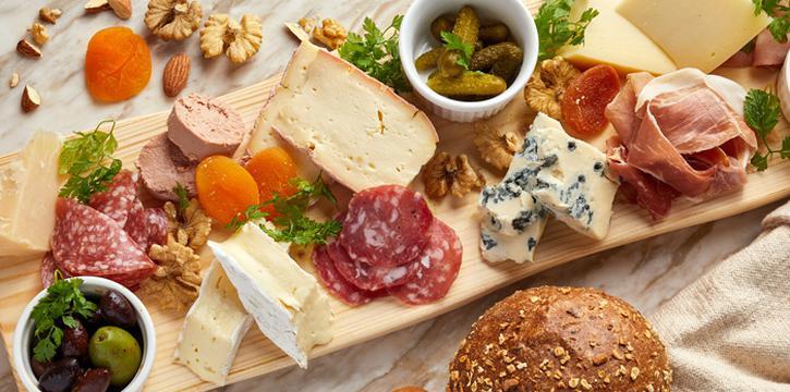 Italian Cheese Platter, Va Bene Italiano, Kowloon Tong, Hong Kong