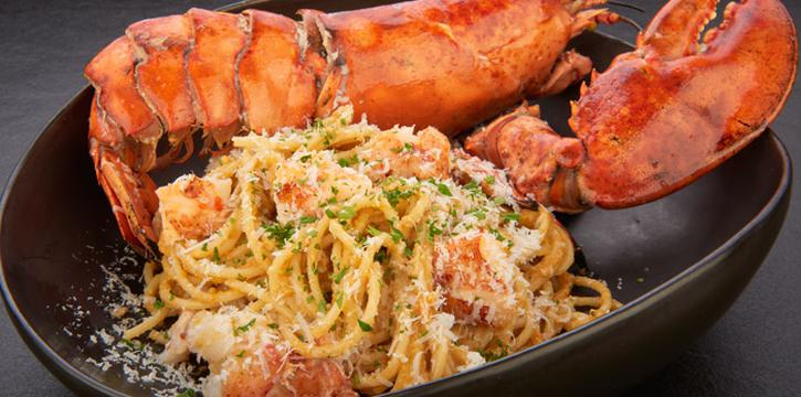 Spaghetti Arrabiata Lobster from D