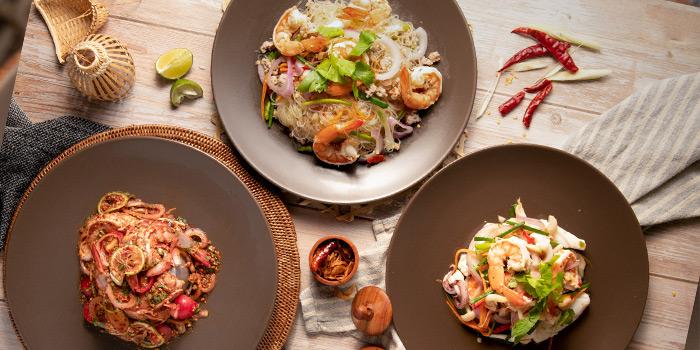 Signature Dishes from Moo Pai Kai Ma at 104 Soi Sukhumvit 39, Khlong Tan Nuea, Wattana, Bangkok