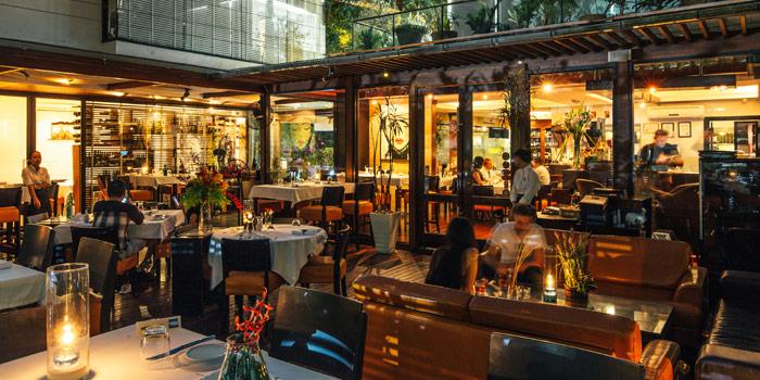 Ambience of La Bottega Di Luca in Upper Sukhumvit, Bangkok