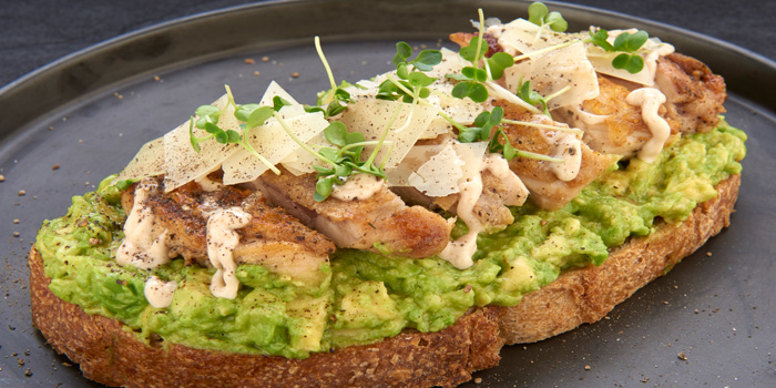 Chicken Truffle Mayo Sourdough from D