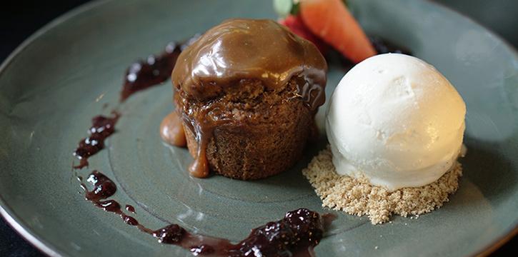 Sticky Date Pudding from Canopy HortPark in Telok Blangah, Singapore