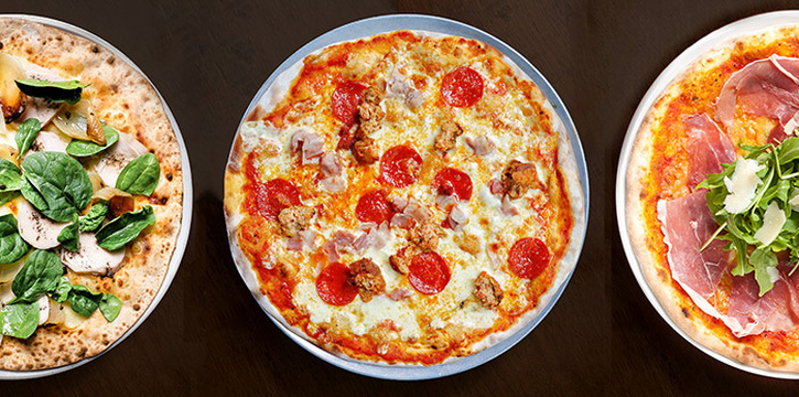 Pizza from Casa Verde at Singapore Botanic Gardens in Tanglin, Singapore