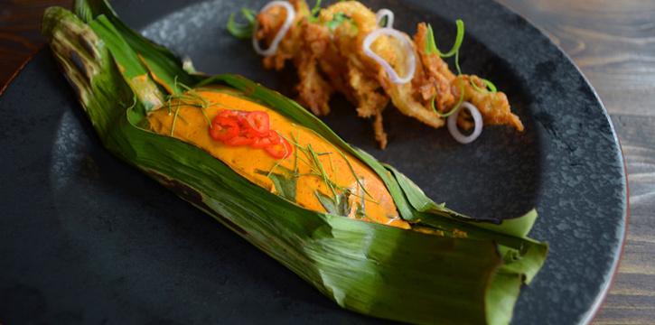 Hor Mok from Best Country Beef Steakhouse at The BOB Design-Led Hostel 112/6 Soi Sukhumvit 63, Khlong Tan Nua, Wattana, Bangkok