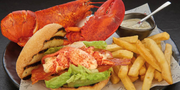 Lobster BLT from D