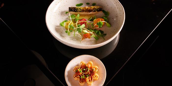 Pan-Fried Fish Salad from Sra Bua by Kiin Kiin at Siam Kempinski Hotel in Siam, Bangkok