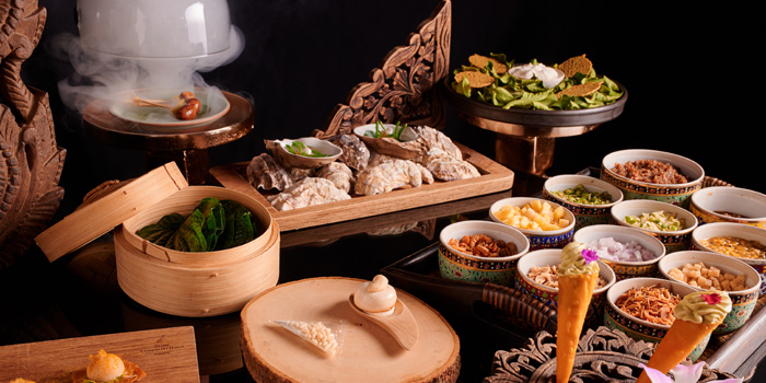 Snack Options from Sra Bua by Kiin Kiin at Siam Kempinski Hotel in Siam, Bangkok