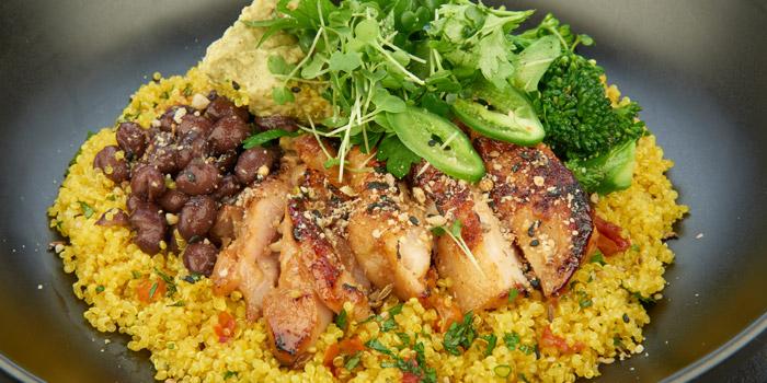 Turmeric Quinoa Tabbouleh from D