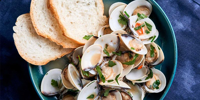Vongole from Canteen Bistro at SMU School of Information System in Dhoby Ghaut, Singapore