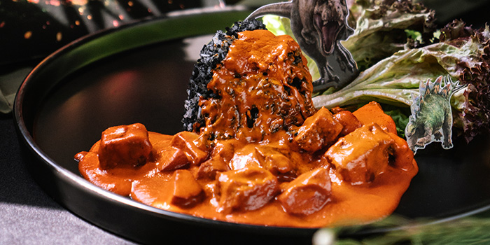 Volcano Curry from Jurassic World Cafe Singapore at ION Sky in Orchard, Singapore