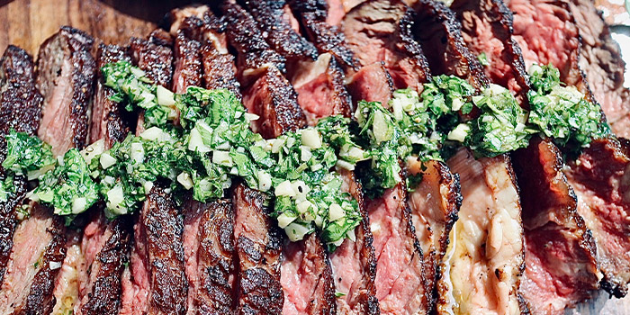 Beef w Chimichurri Sauce from Keef The Beef @ Hideaway in Bukit Timah, Singapore