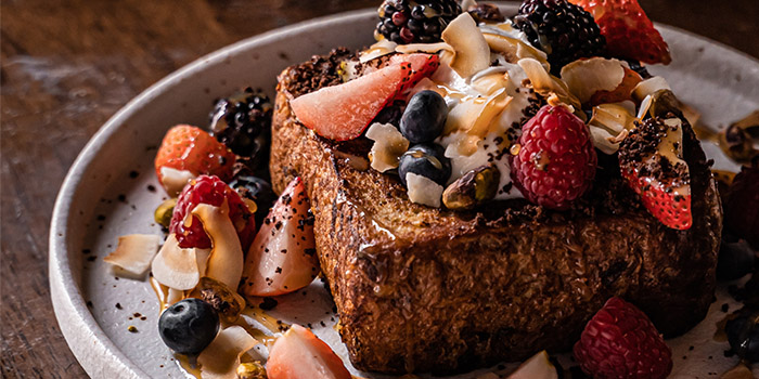 Brioche French Toast from Sarnies Cafe at Telok Ayer in Raffles Place, Singapore