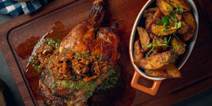 Roasted Chicken, The Optimist, Wan Chai, Hong Kong