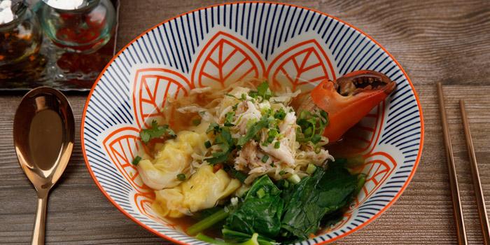 Bamee Kiew Goong Na Poo from You & Mee Restaurant at Grand Hyatt Erawan, Bangkok