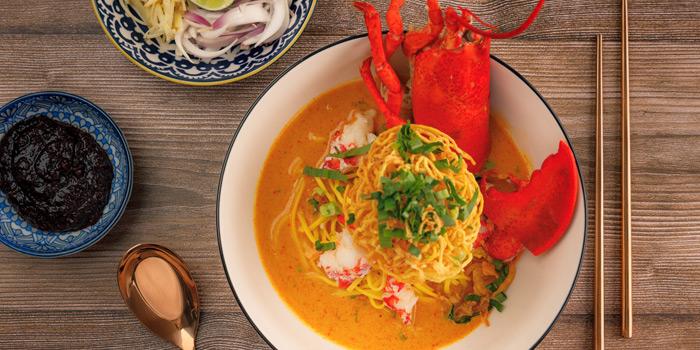 Khao Soi Boston Lobster from You & Mee Restaurant at Grand Hyatt Erawan, Bangkok