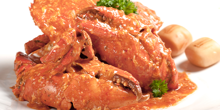 Chilli Crab from House of Seafood (Clarke Quay) in Clarke Quay, Singapore