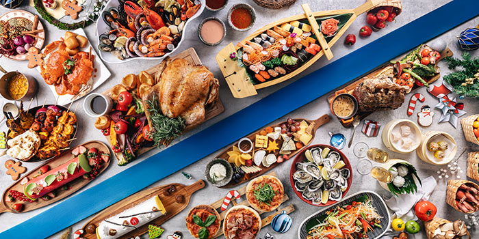 Festive Buffet (1 Dec to 1 Jan) from The Line in Shangri-La Hotel in Orchard, Singapore
