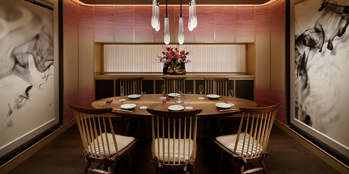 Private Dining Room of Mizuki in Orchard, Singapore
