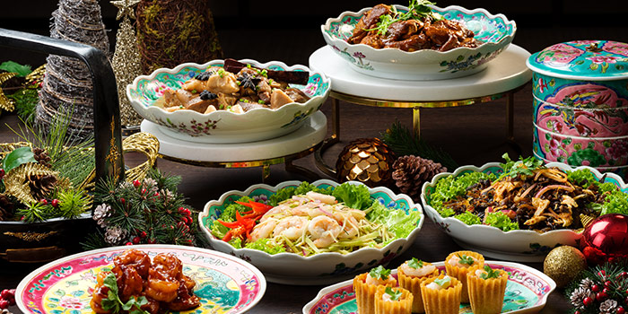 Lavish Heritage Fare (1-31 Dec)  from The Lobby Lounge at Shangri-La Hotel in Tanglin, Singapore