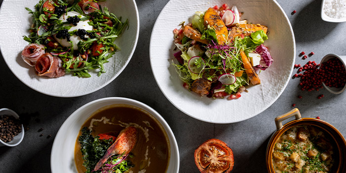 Soup & Salad from Barossa Bar & Grill (VivoCity) in VivoCity, Singapore